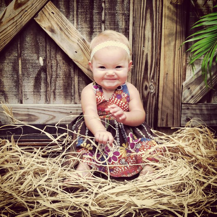 Fall baby pic. Adorable!
