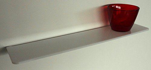 """Fimel - Mensola """"Hob in plexiglass 5 mm bianco misura L. 490 x P. 110 mm Fimel http://www.amazon.it/dp/B00SL3YBFI/ref=cm_sw_r_pi_dp_ia5jvb0EDRYEP"""