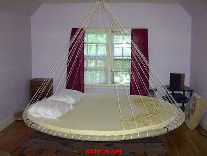 trampoline bed   hmmmm. 17 Best images about Trampoline on Pinterest   Hanging beds  Sleep