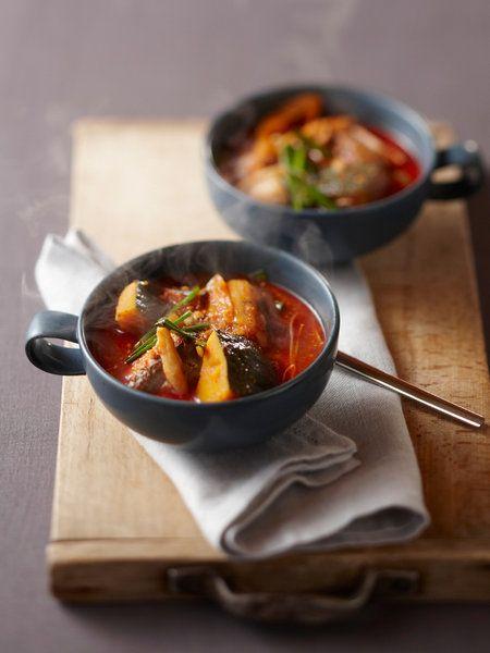 Recipe : サバ缶を使ったスープ(シプケマンドルクッ)/サバの水煮缶を活用した、手軽でおいしいスープ。 #Recipe #レシピ