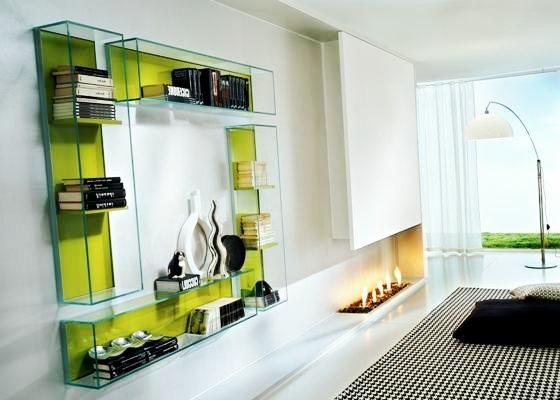 Стеклянные полки: для ванной, цветов, под телевизор, угловые полки полки из стекла