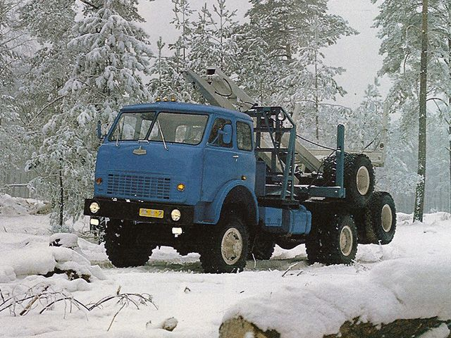 МАЗ 509А '1978–90