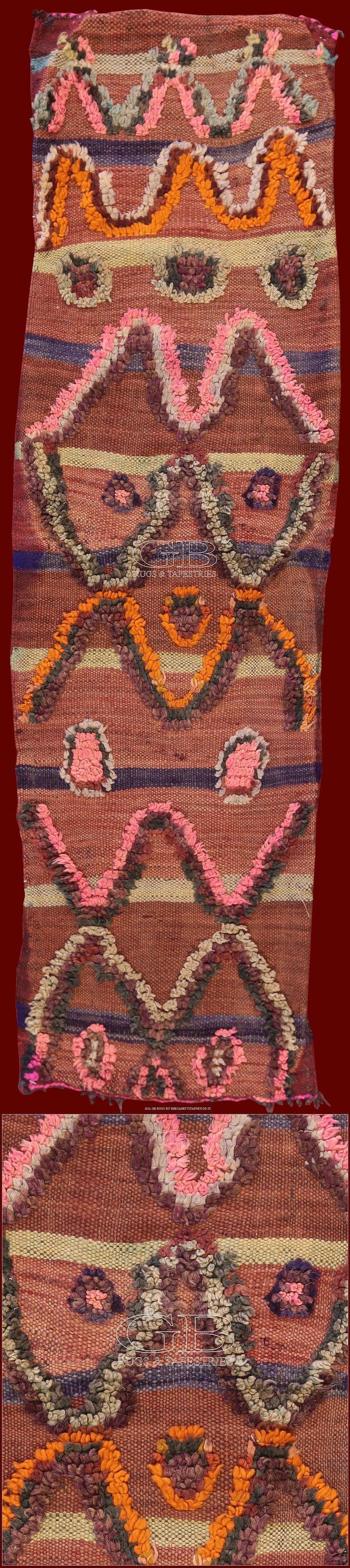 Tappeto Berbero Talsentcm 144 x 41ft 4'7 x 1'3