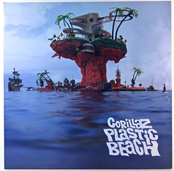 Gorillaz - Plastic Beach 180g