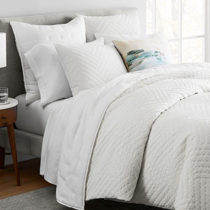 Organic Parquet Texture Textured Duvet Parquet Texture Textured Bedding