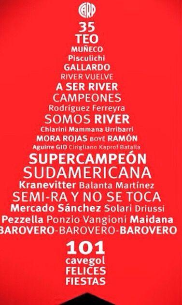 Merry Xmas River Plate