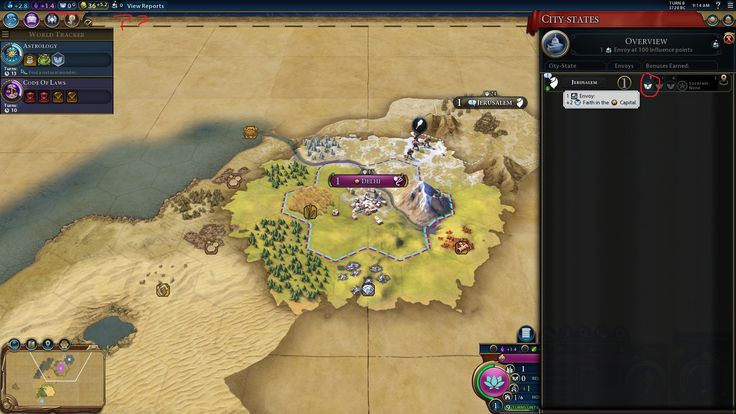 Two turns after meeting Jerusalem and getting the first finder envoy i still don't have my faith per turn. Is this a known bug? #CivilizationBeyondEarth #gaming #Civilization #games #world #steam #SidMeier #RTS