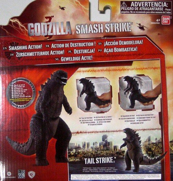 juguete Godzilla Smash Strike. Diseño de Godzilla 2014 - portal Ñoño