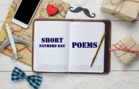 short fathers day poems...