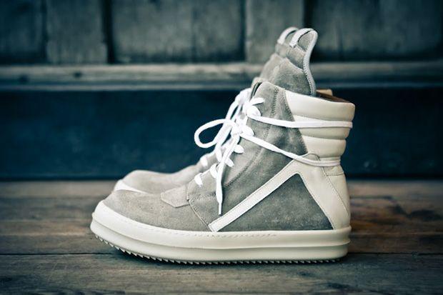 RICK OWENS Geobasket Sneaker.