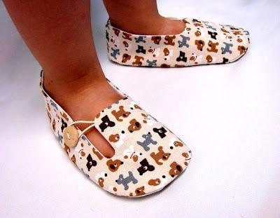 diy baby shoe patterns