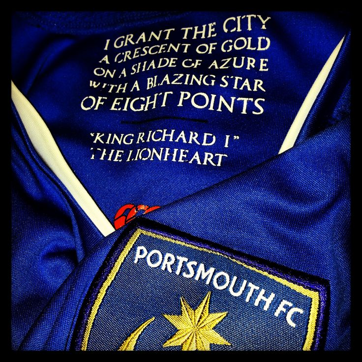 Portsmouth FC - Pride, passion, spirit.
