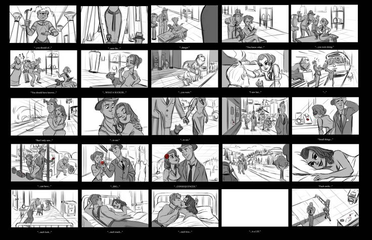 Best 25+ Storyboard Examples Ideas On Pinterest