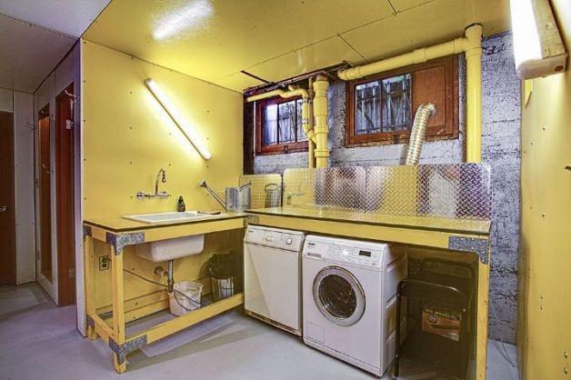 Basement laundry room basements pinterest laundry for Basement laundry room ideas
