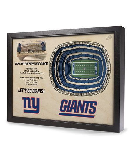 StadiumViews New York Giants MetLife Stadium Wall Art | zulily
