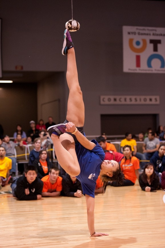 NYO_AKKick Native Youth Olympics