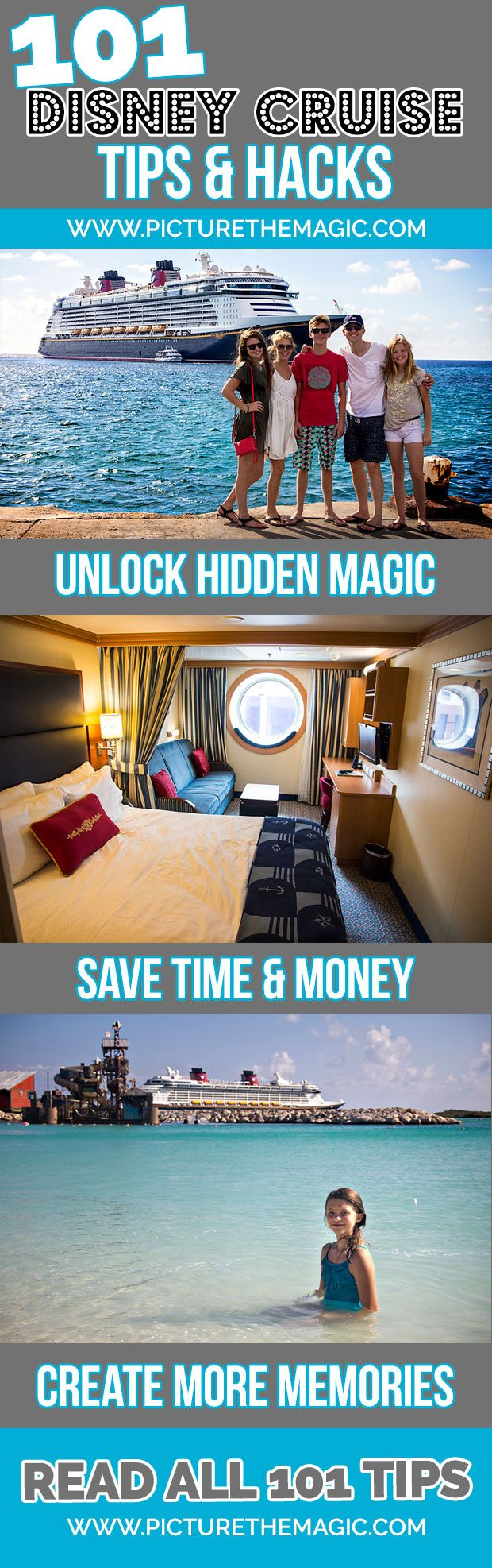 !!! 101 Disney Cruise Tips & Hacks - so much great info I'd never heard before