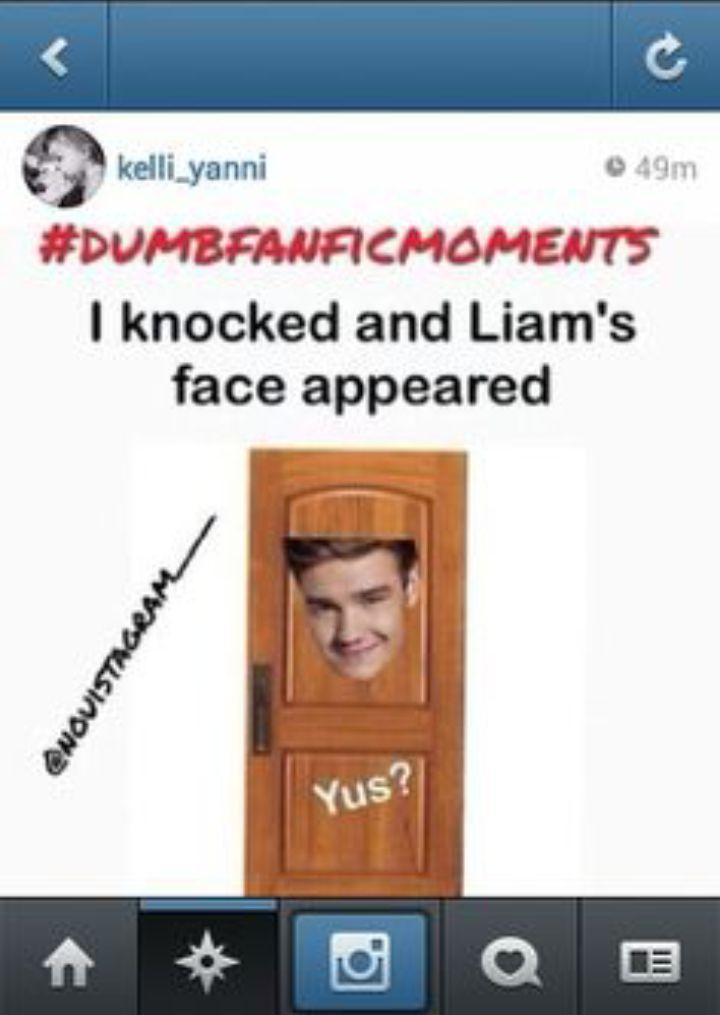 Funny dumb fanfic moment lol