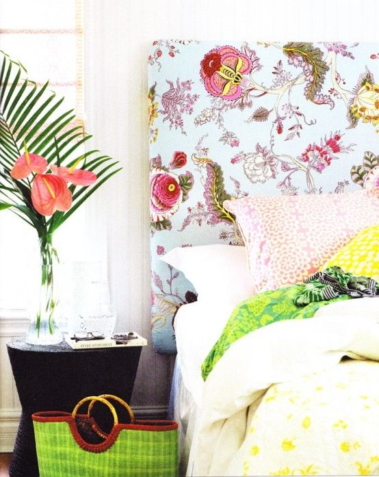 Cheerful Summer Interiors: 49 Inspiring Fresh Summer Bedroom Designs | DigsDigs