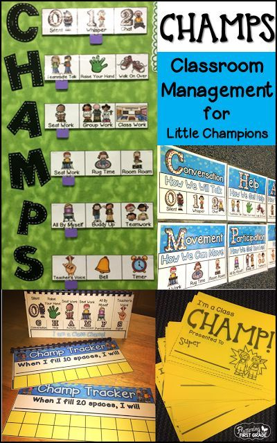 CHAMPS Classroom Management for little champions