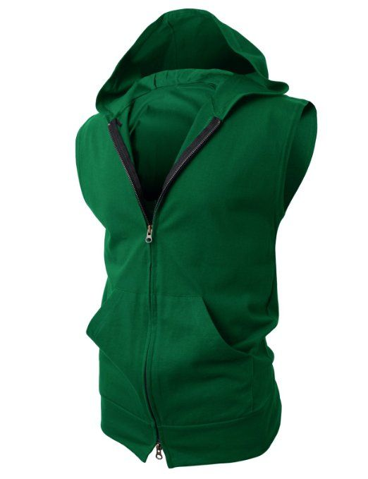 Dammit! They don't ship to Australia! Amazon.com: H2H Mens Lightweight Sleeveless Fashion Hoodies