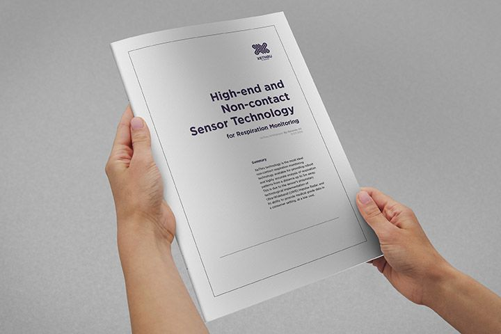 Novelda whitepaper: High-end and non-contact sensor technology for respiration monitoring. #xethru #respirationmonitoring