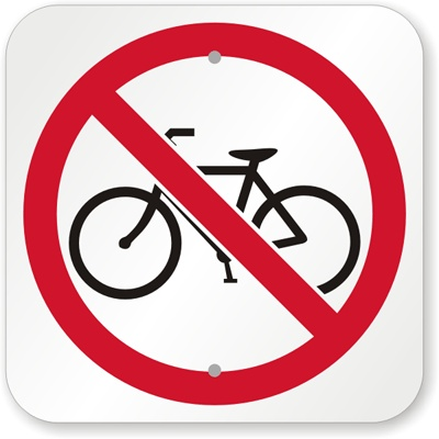 Cyclists Not Welcome in Valencia