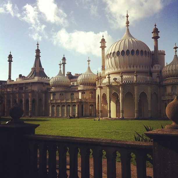 Royal Pavilion, Brighton, taken by me (moon to moon)