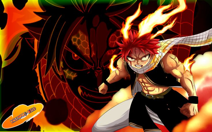 Pics for fairy tail natsu fire wallpaper fairy tail - Image manga fairy tail ...