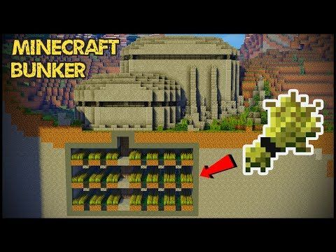 How To Make A Bunker In Minecraft You