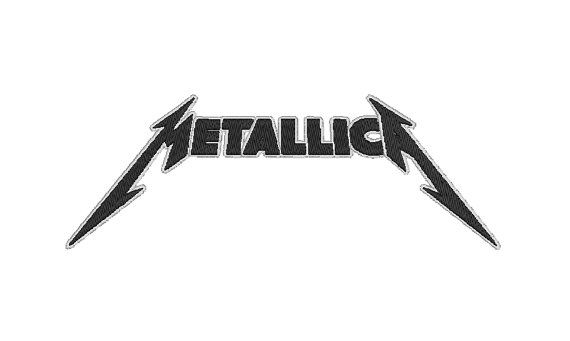 Metallica Embroidery Design by OCDEmbroidery on Etsy, $3