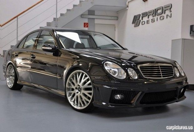 nice wheel rim...PRIOR-Design Mercedes-Benz E-Class W211