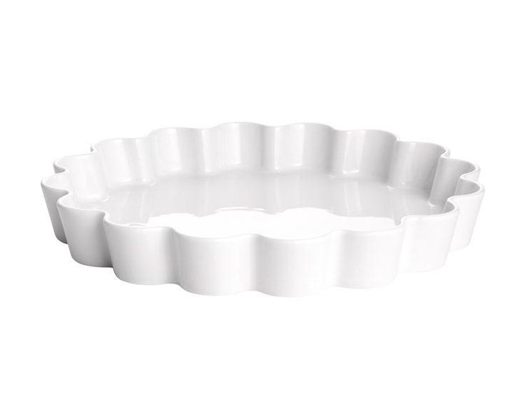 Patisserie tærteform  hvid