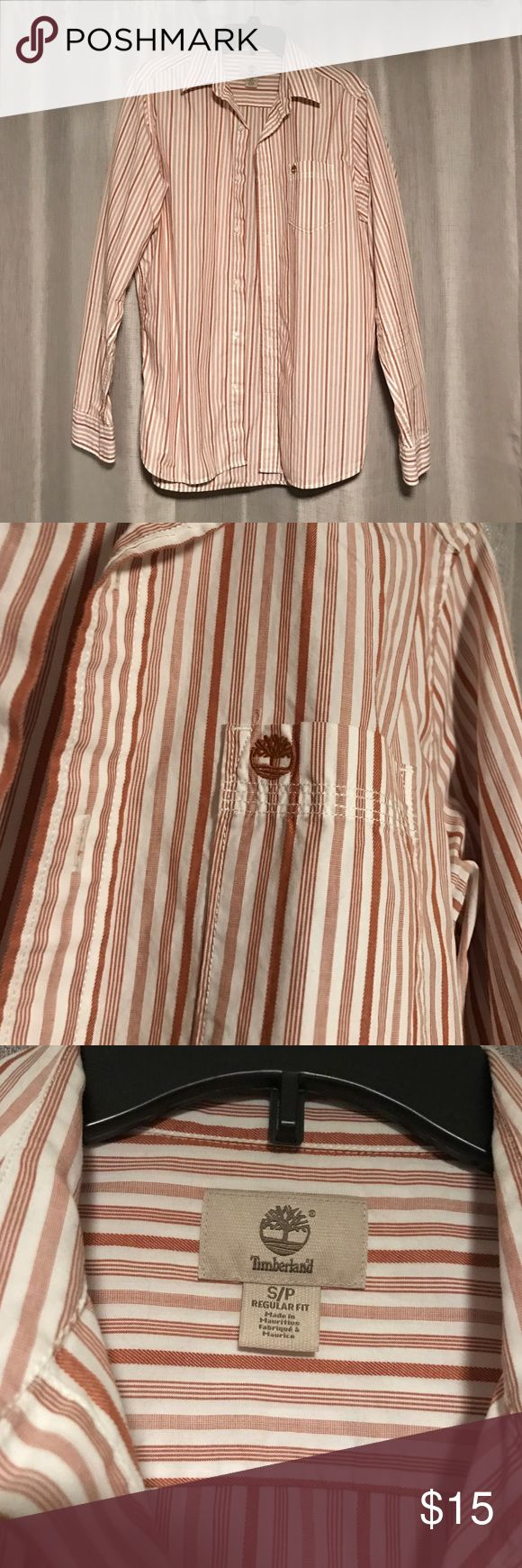 Timberland Button Up Never worn men's dress shirt. Timberland Shirts Casual Button Down Shirts