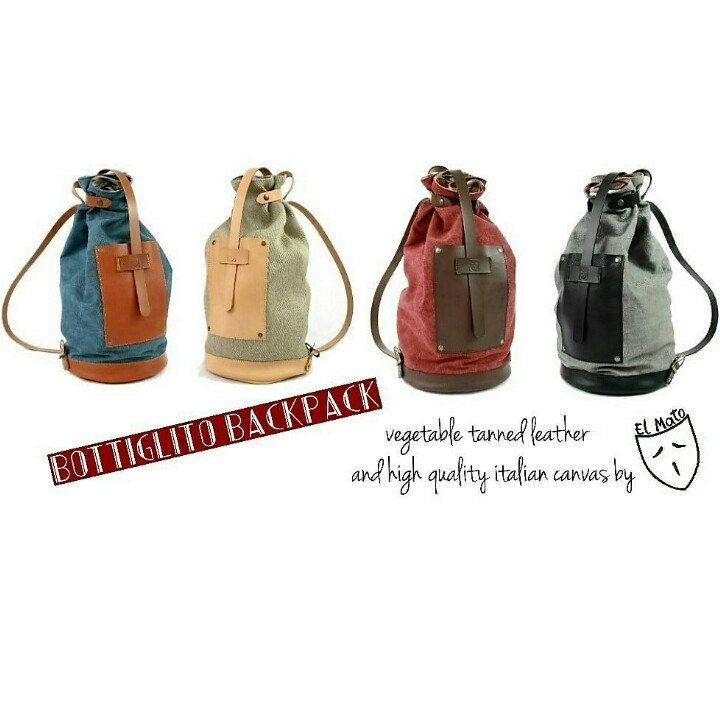 Our Bottiglito backpacks available in many colors in our shop!! No omologation!!!