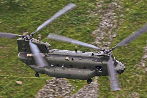 Boeing Helicopters CH-47 Chinook ZH900 RAF