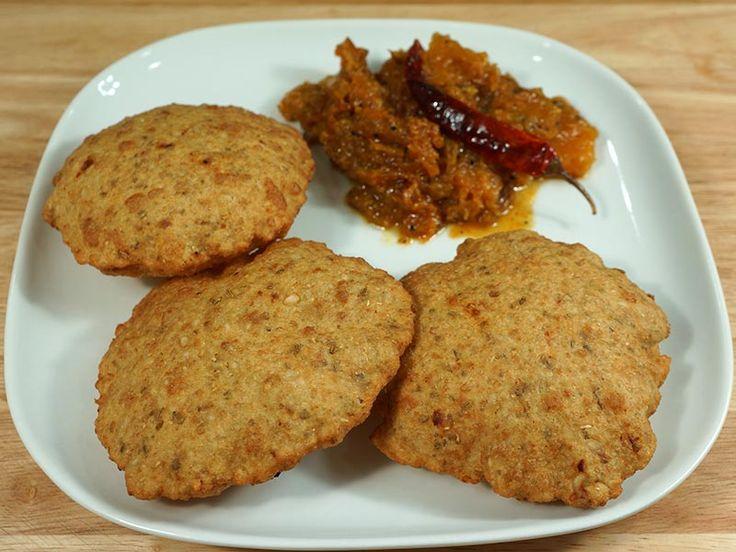 urad dal puri bedmi kachori indian spicy bread recipe by manjula in 2020 indian food recipes on hebbar s kitchen kachori id=13828