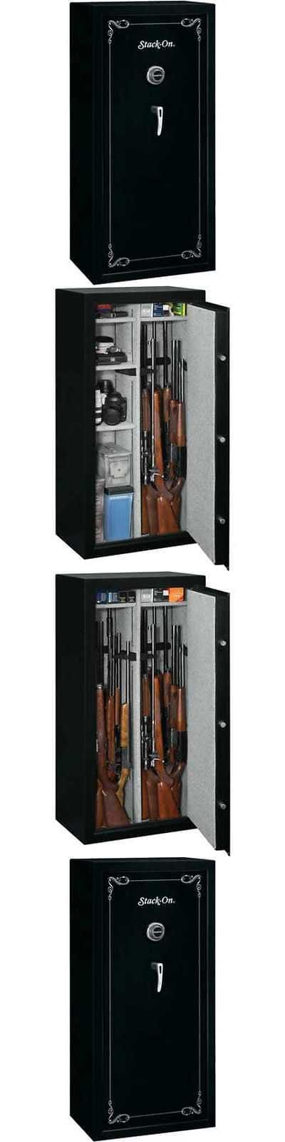 Cabinets and Safes 177877: Stack-On 22 Gun Safe With Combination Lock Matte Black Security Cabinet Rifle -> BUY IT NOW ONLY: $483.99 on eBay!