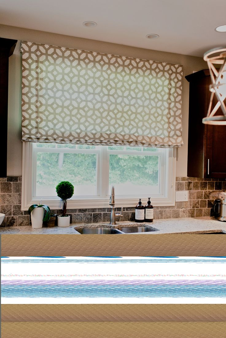 Contemporary roman shade in schumacher imperial trellis fabric by - Effigy Of Outside Mount Roman Shades They Mustn T Expensive