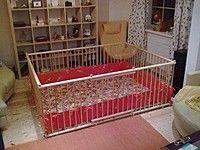 Деревянный детский Манеж изготовлен по индивидуальным размерам 1.5х2.0м