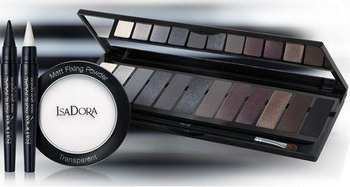 Зимняя коллекция макияжа IsaDora 2016-2017, IsaDora Black & White The Monochrome Look Collection Winter 2017