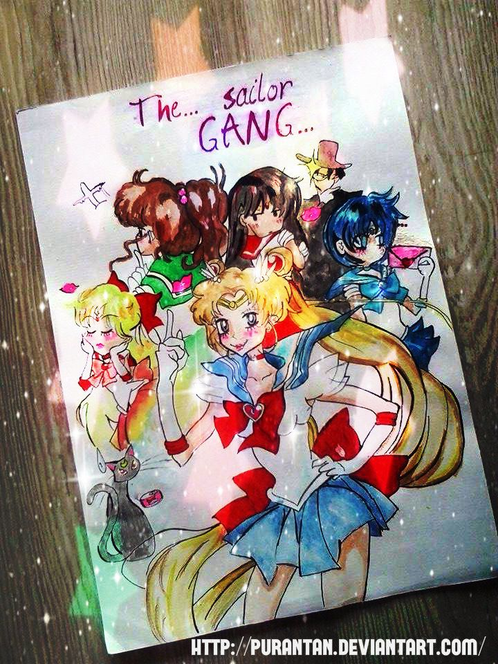 The... Sailor Gang...