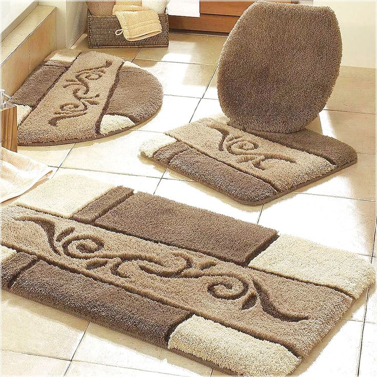 Luxury Bath Rug Sets Roselawnlutheran - Rubber backed bath mats for bathroom decorating ideas