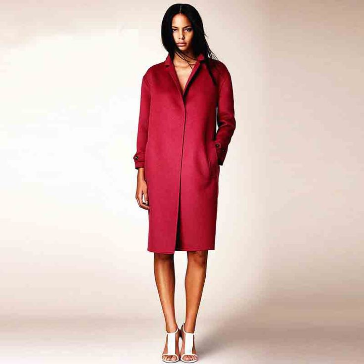 iFind#2 high quality 2014 women wool trench ,new winter coat, major suit