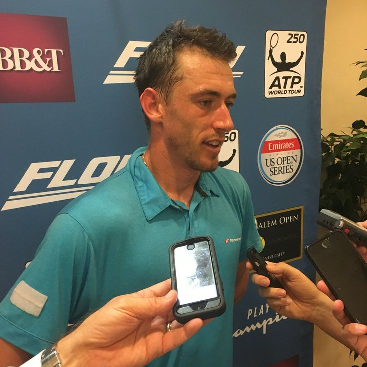 @WSOpen  5h5 hours ago For the first time in his career, John Millman is in an @ATPWorldTour semifinal! #WSOpen