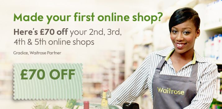 Waitrose - Online Grocery Shopping   Free Delivery   Recipes   Wine   Party Food, Price Matched with Tesco on branded items, Free Newspaper on £10 spend - Excellent service!