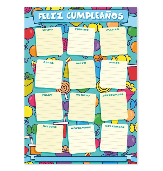Panel Cumpleaños Ingles -> http://www.masterwise.cl/productos/43-sala-de-clases/1866-panel-cumpleanos-ingles
