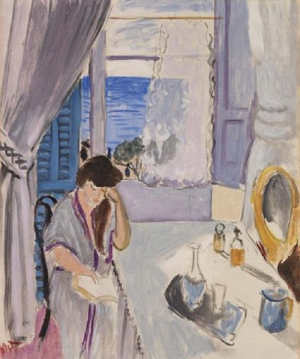 Henri Matisse (French, 1869-1954): Interior, Nice, 1919