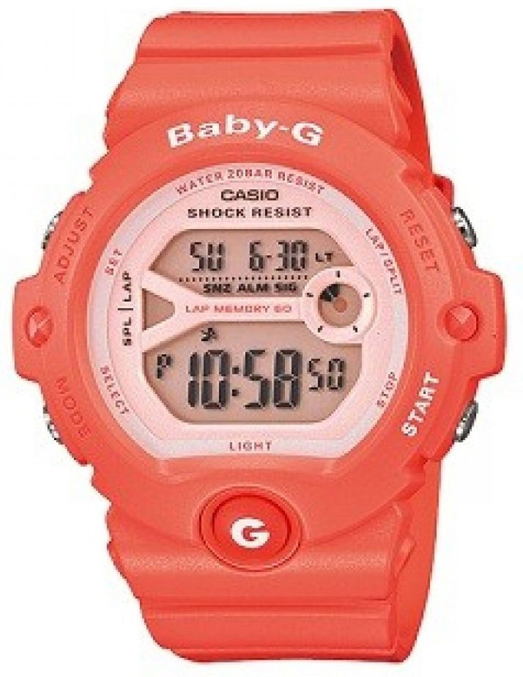 Casio Baby-G Dual Time Lap Memory BG-6903-4 Womens Watch