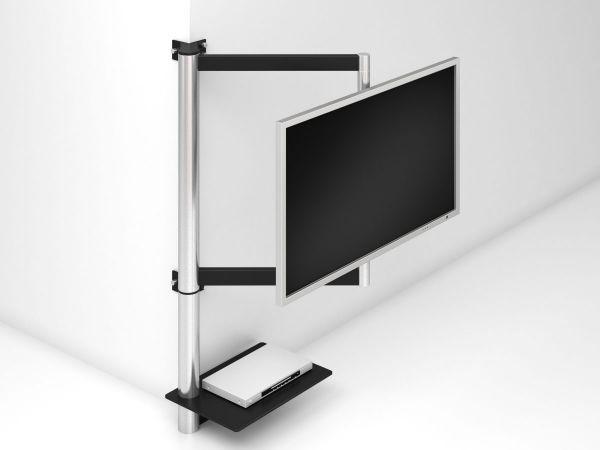 die besten 25 wandhalter tv ideen auf pinterest wandhalterung tv st nder tv halter und. Black Bedroom Furniture Sets. Home Design Ideas